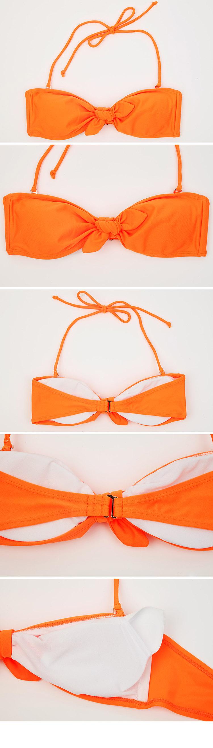 荧光边框素材橙色